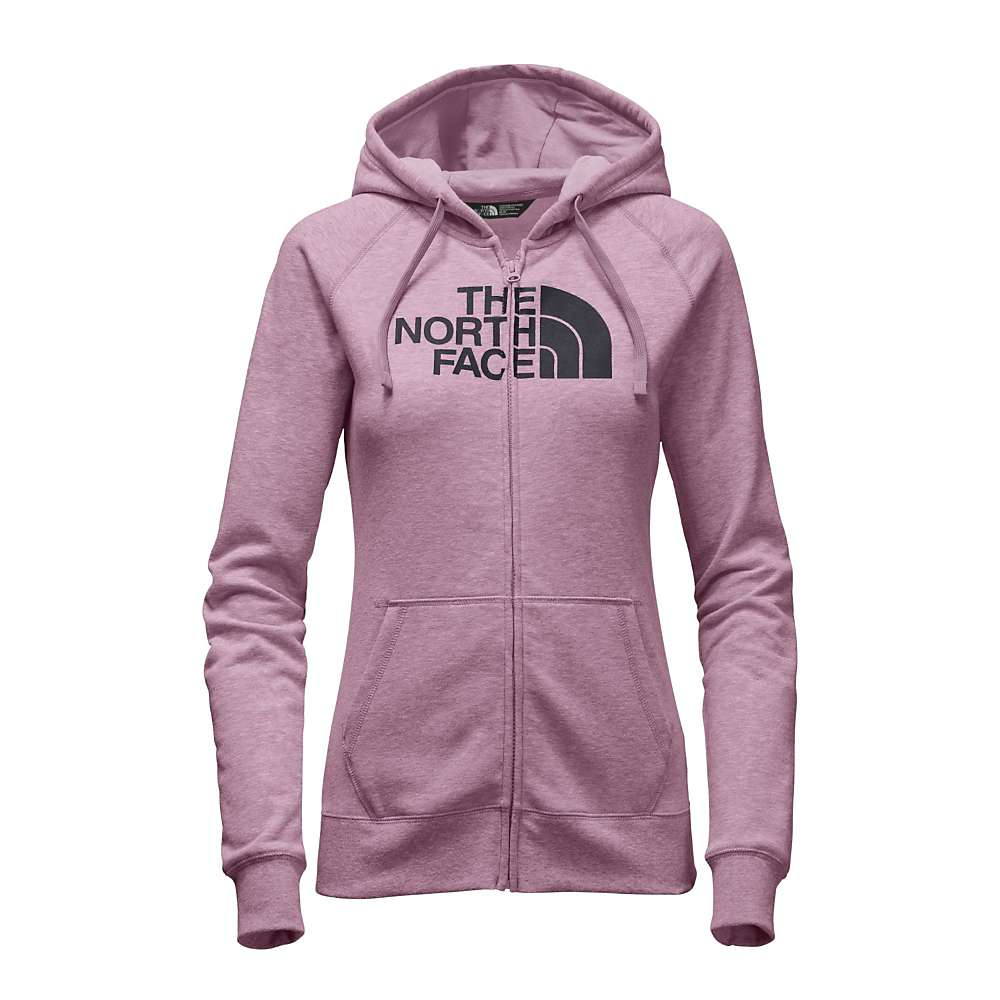 The North Face Women's Half Dome Full Zip Hoodie - Medium - Purple Agate Heather / Asphalt Grey