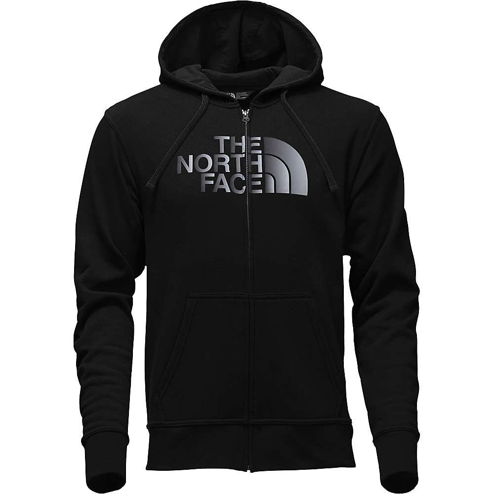 The North Face Men's Half Dome Full Zip Hoodie - Medium - TNF Black / TNF Black Reflective