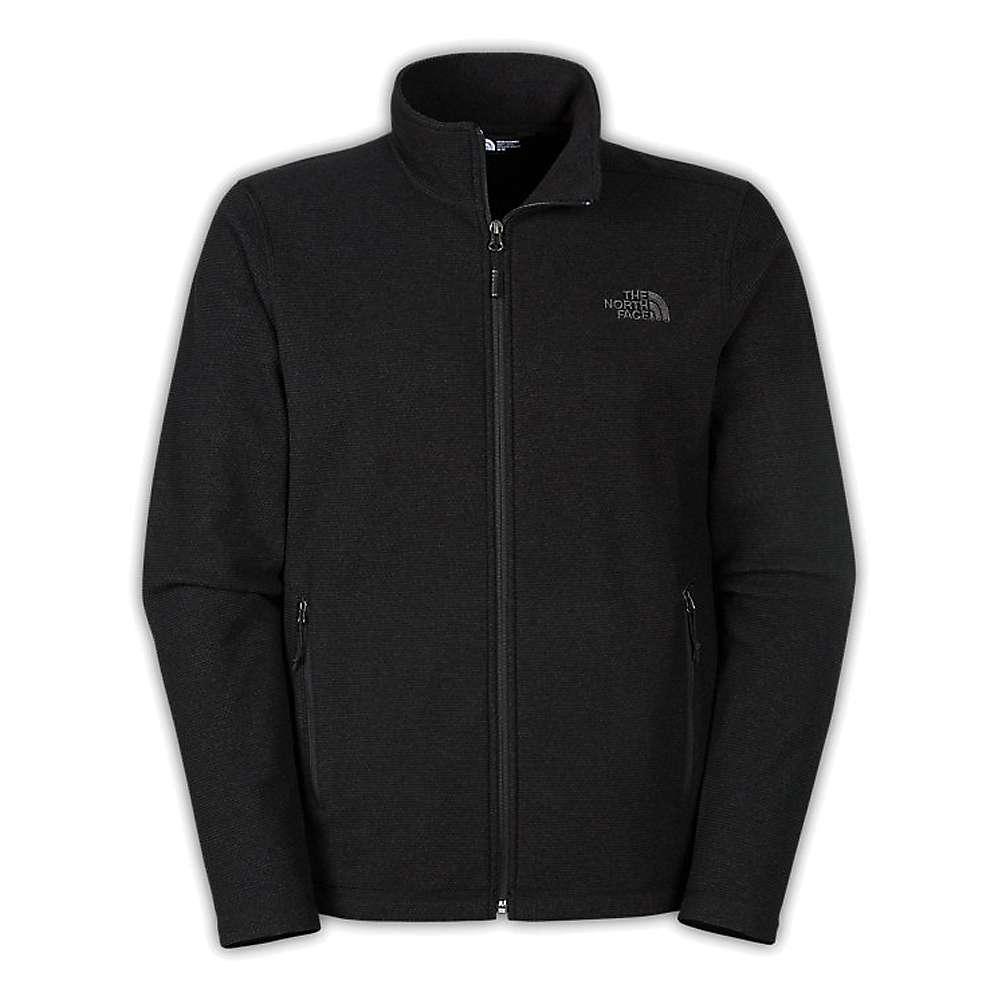 The North Face Men's Texture Cap Rock Full Zip Jacket - XXL - TNF Black Texture