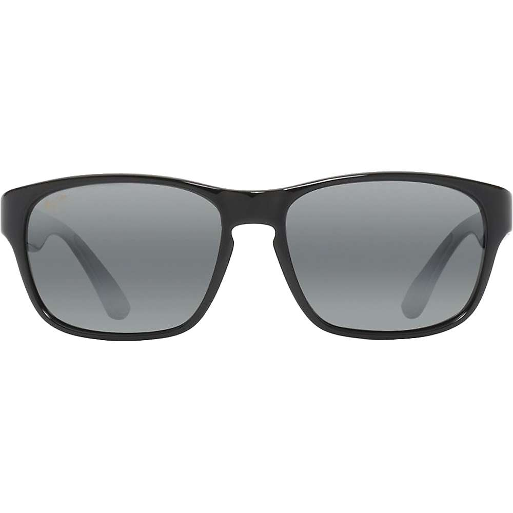 Maui Jim Mixed Plate Polarized Sunglasses - One Size - Gloss Black / Neutral Grey