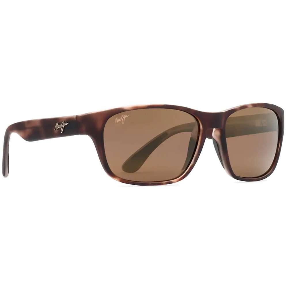 Maui Jim Mixed Plate Polarized Sunglasses - One Size - Matte Tortoise Rubber / HCL Bronze
