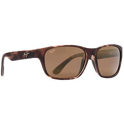 Maui Jim Mixed Plate Polarized Sunglasses - Matte Tortoise Rubber / HCL Bronze