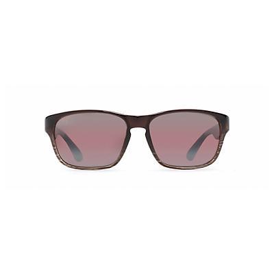 Maui Jim Mixed Plate Polarized Sunglasses - Chocolate Stripe Fade / Maui Rose
