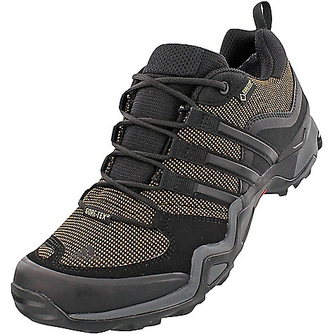Adidas Men's Fast X GTX Boot Earth / Black / Vista Grey Adidas Men's Fast X GTX Boot - Earth / Black / Vista Grey - in stock now. FEATURES of the Adidas Men's Fast X GTX Boot Gore-Tex keeps feet dry Lining: Gore-Tex Extended Comfort Footwear Inlay: Molded Ortholite Sockliner Midsole Full forefoot adiPRENE+ for forefoot propulsion efficiency Outdoor specific Formotion unit for enhanced motion control and downhill comfort Outsole: Continental Rubber for extraordinary grip