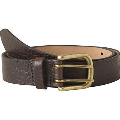 Mountain Khakis Vintage Brass Bison Belt - Brown