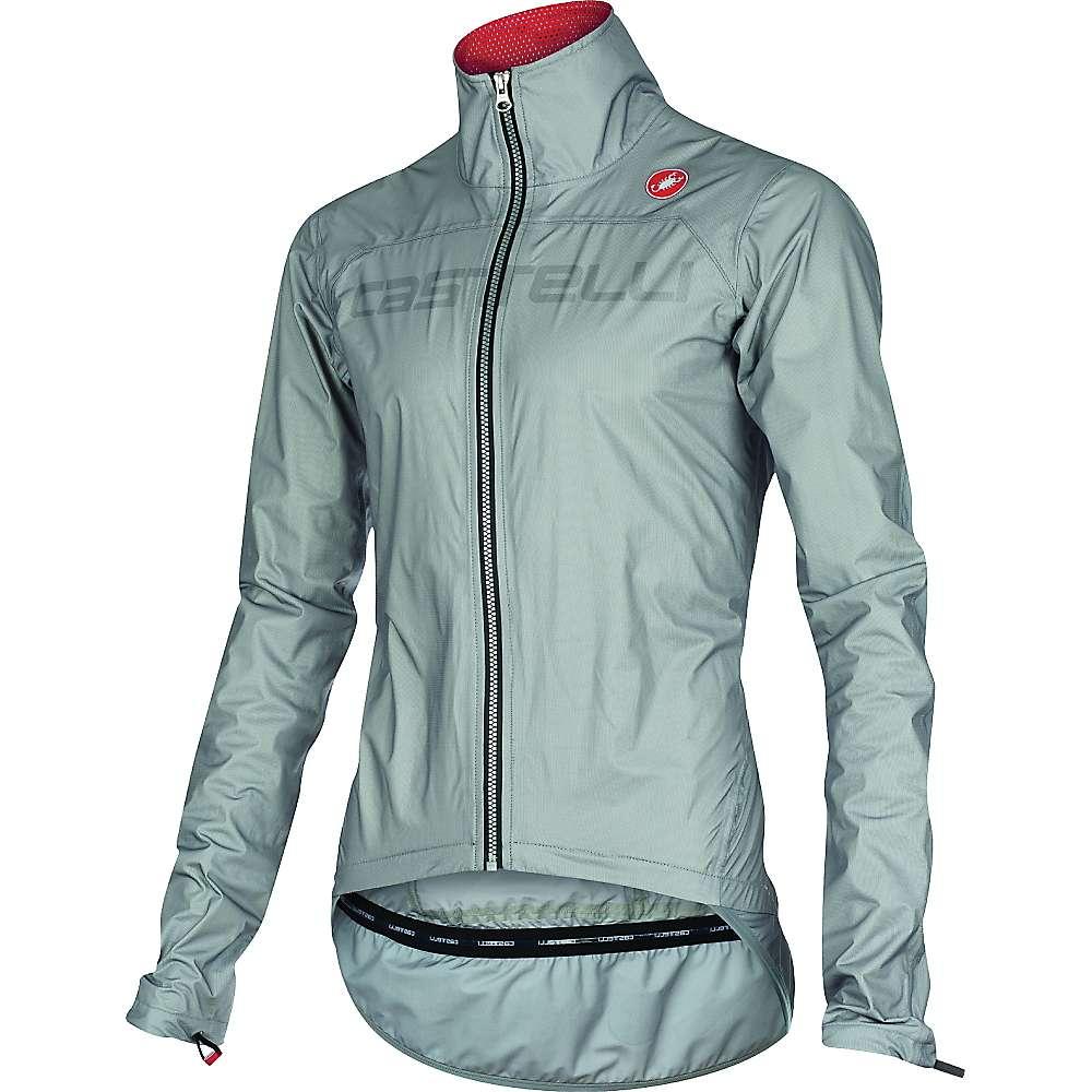 Castelli Men's Tempesta Race Jacket - Medium - Grey