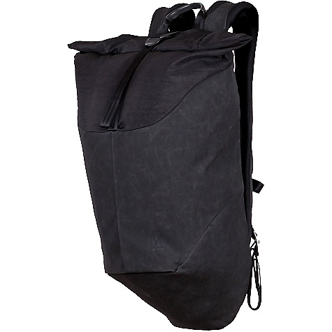 Alchemy Equipment 20l Roll Top Daypack Black Waxed Kodra