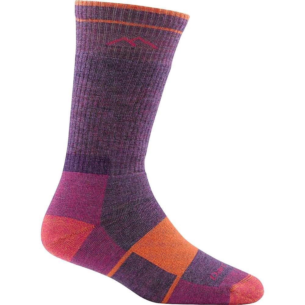 Darn Tough Women's Hiker Boot Full Cushion Sock - Small - Plum Heather