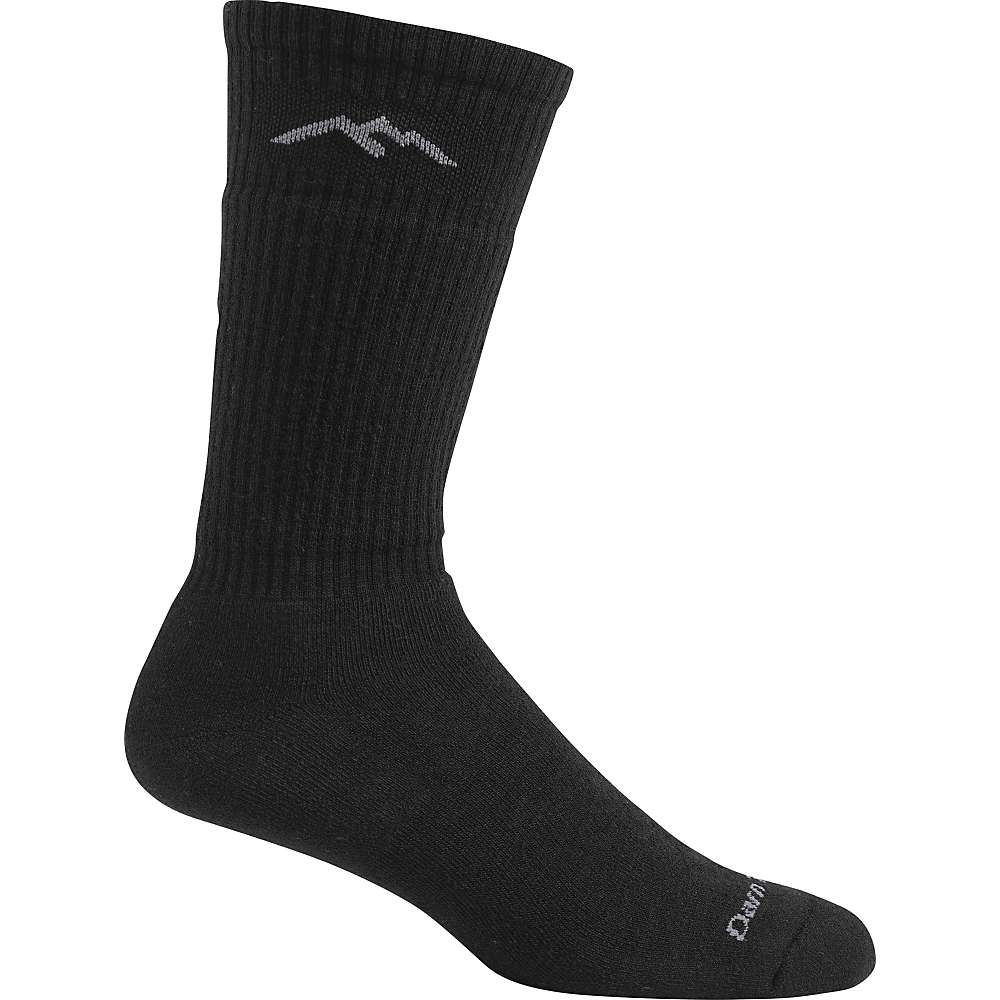 Darn Tough Men's Standard Issue Mid-Calf Light Sock - Small - Black