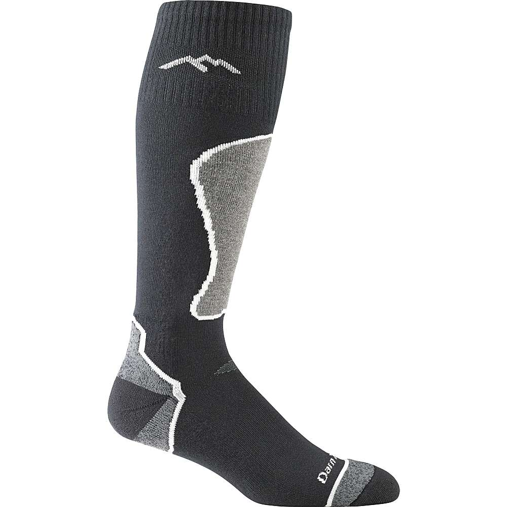 Darn Tough Men's Thermolite OTC Padded Cushion Socks - Medium - Black / Polar