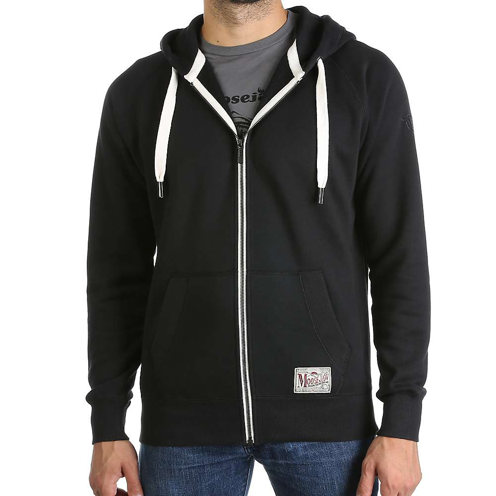 Moosejaw Men's The Final Countdown Premium Zip Hoody - Small - Black