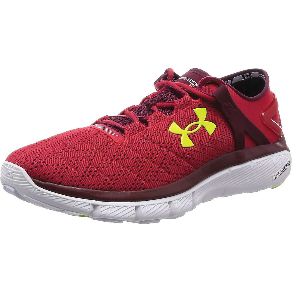 Under Armour Men's Speedform Fortis - 10 - Red / White / High Vis Yellow