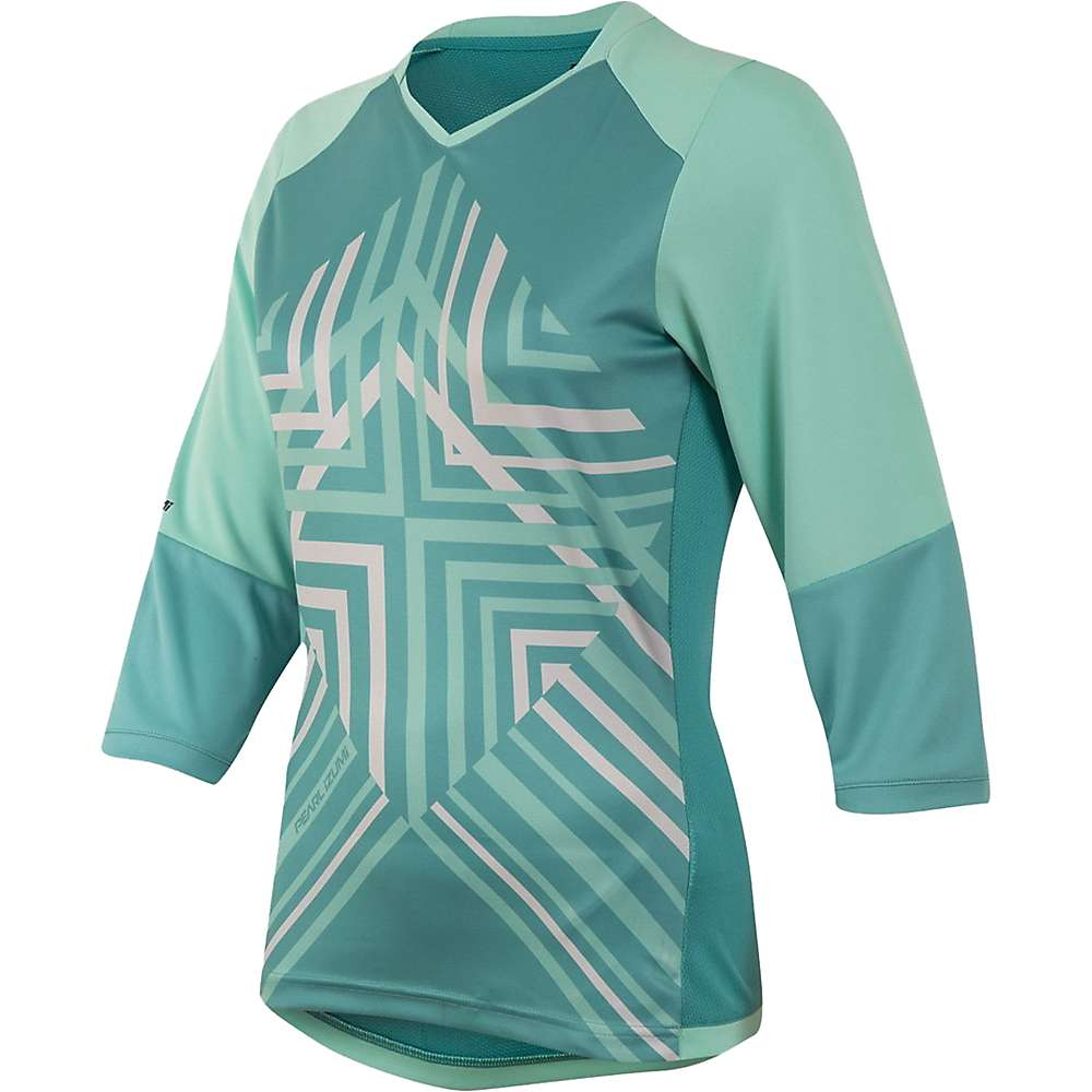Pearl Izumi Women's Launch 3/4 Sleeve Jersey - Large - Aqua Mint