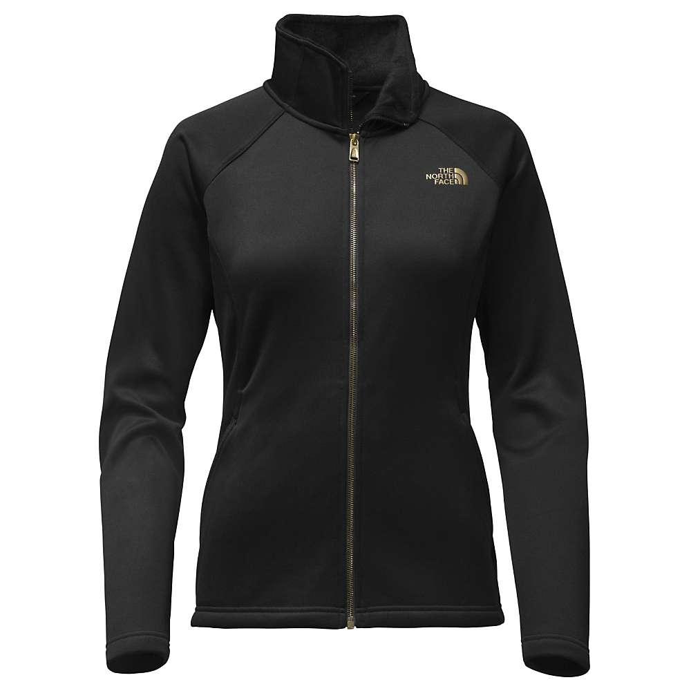 The North Face Women's Agave Full Zip Jacket - XXL - TNF Black / TNF Black