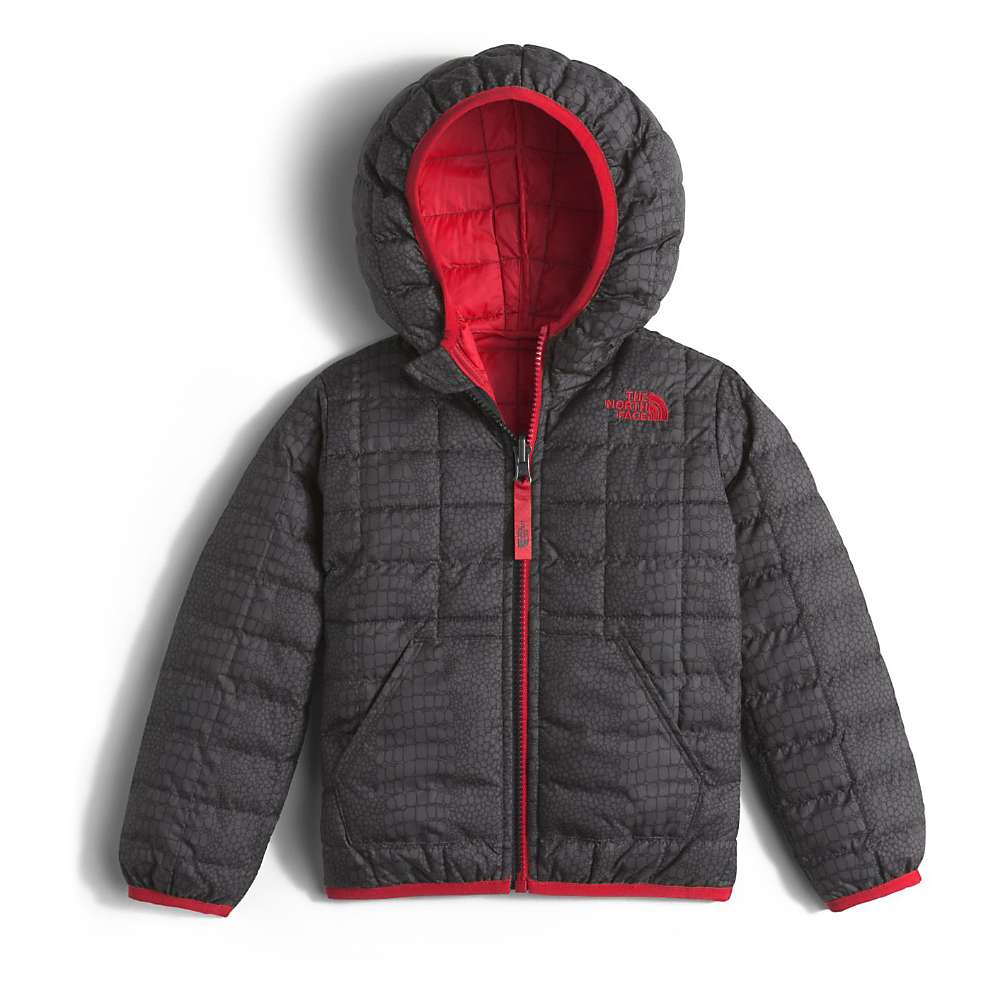 The North Face Toddler Reversible Thermoball Hoodie - 2T - TNF Black Croc Print