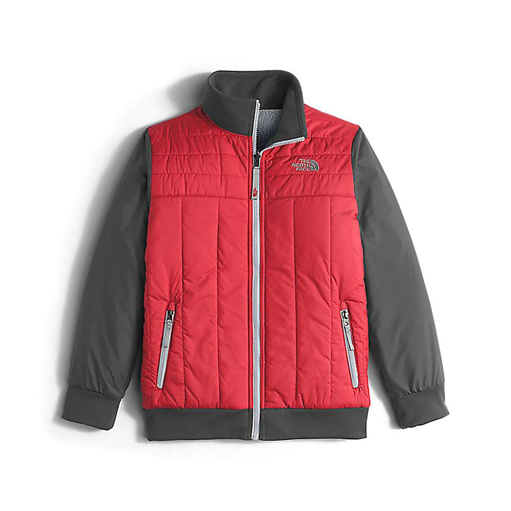 The North Face Boys' Reversible Yukon Jacket - Large - TNF Red