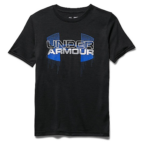 Under Armour Boys' Big Logo Hybrid SS Tee 3045849