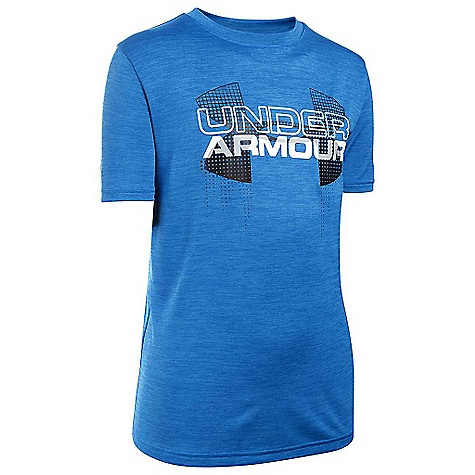 Under Armour Boys' Big Logo Hybrid SS Tee 3286299