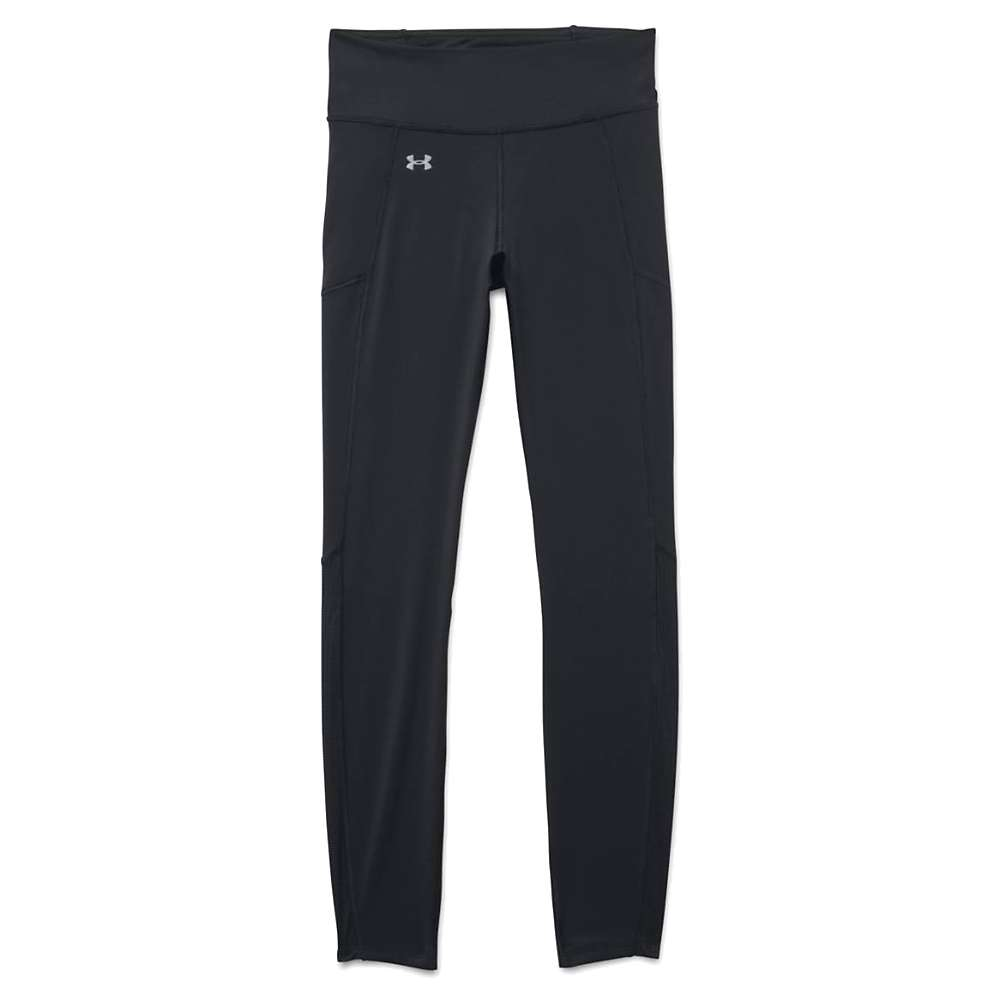 Under Armour Women's Fly By Run Legging - Small - Black / Black / Reflective