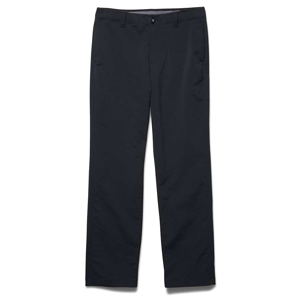 Under Armour Boys' Match Play Pant - Small - Black / Graphite