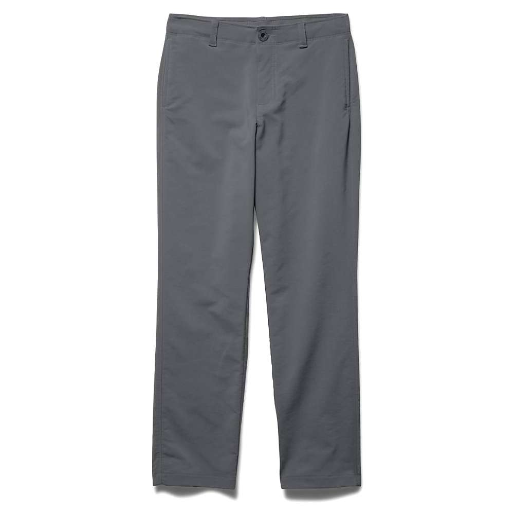 Under Armour Boys' Match Play Pant - Small - Graphite / Black
