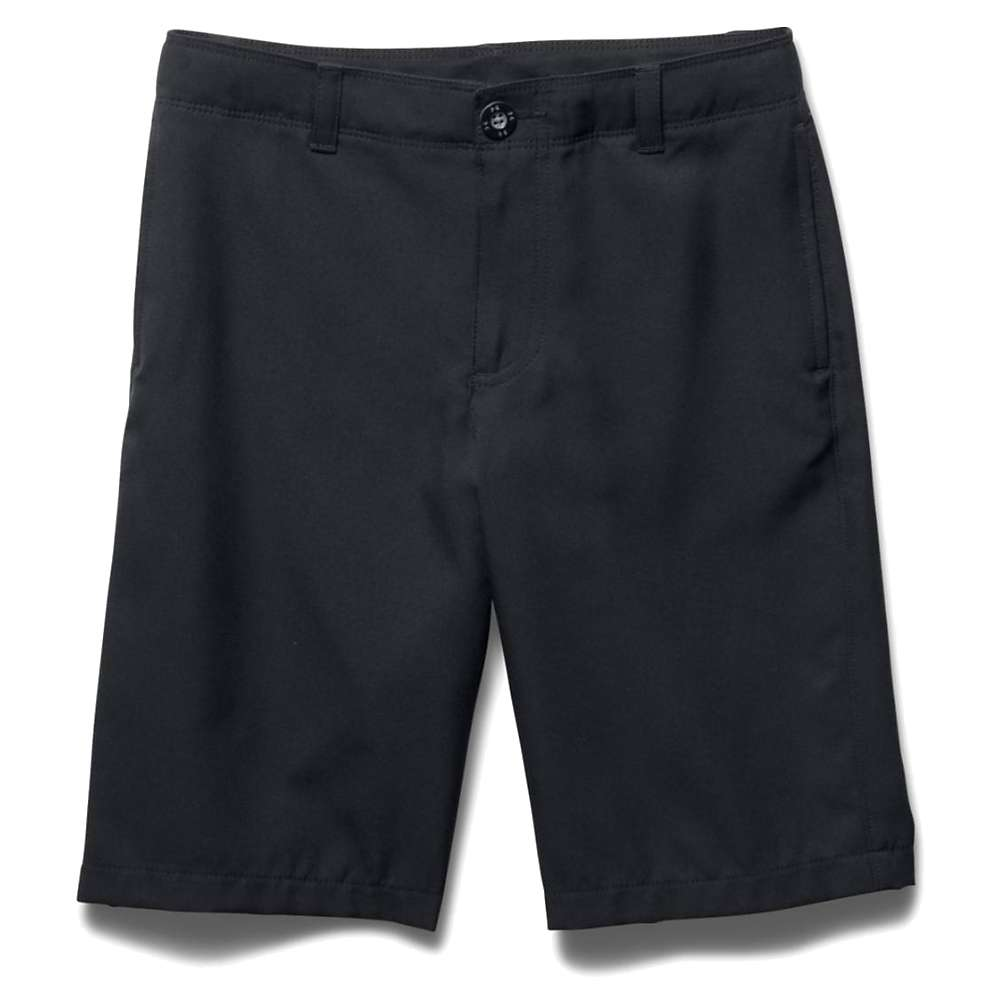 Under Armour Boys' Medal Play Golf Short - XL - Black / Graphite