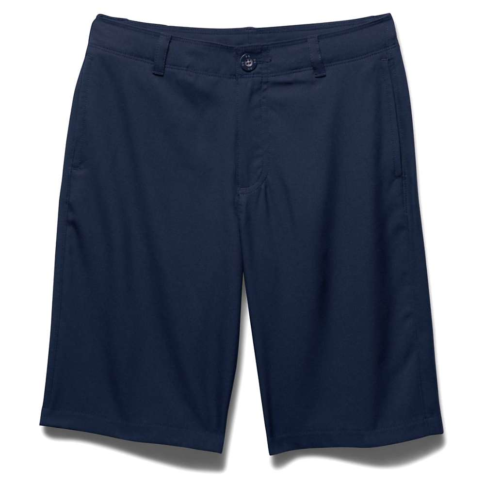 Under Armour Boys' Medal Play Golf Short - XS - Navy Seal / Graphite