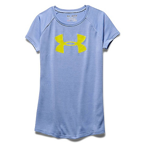 Under Armour Girls' Novelty Big Logo Tech SS T 3041173