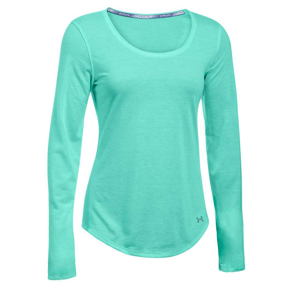 Under Armour Women's Streaker LS Top - Small - Crystal / Reflective