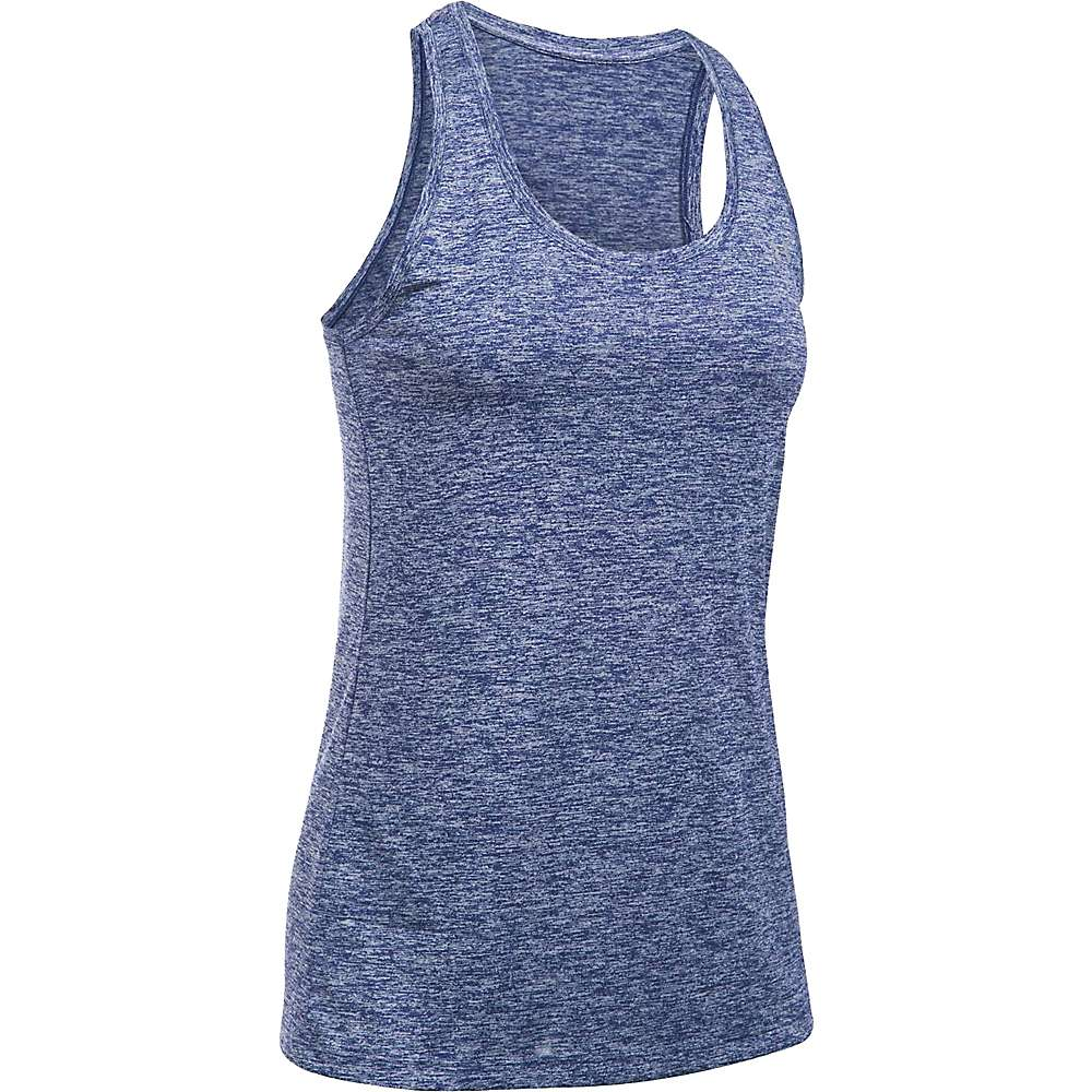 Under Armour Women's UA Tech Twist Tank - Medium - Europa Purple / Metallic Silver