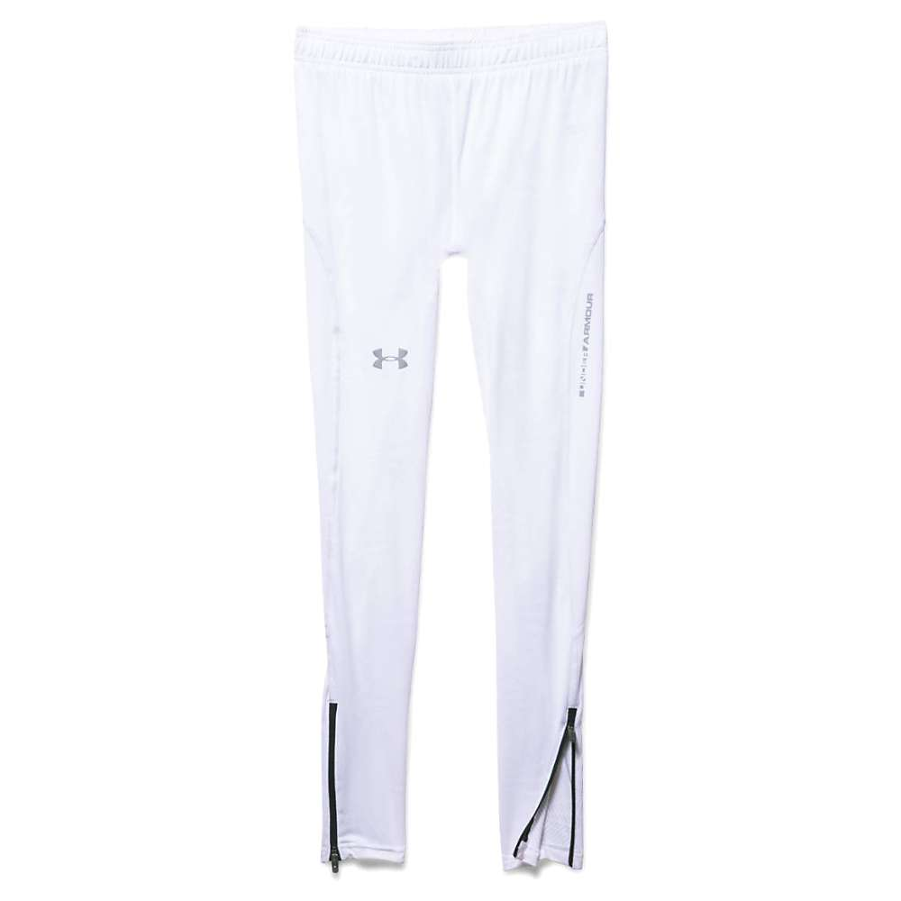 Under Armour Men's Coolswitch Run Tight - Large - White / Black / Reflective