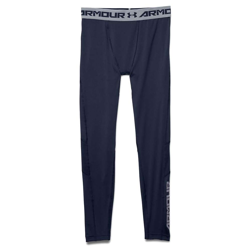 Under Armour Men's HeatGear Coolswitch Compression Legging - XXL - Midnight Navy / Midnight Navy / Reflective