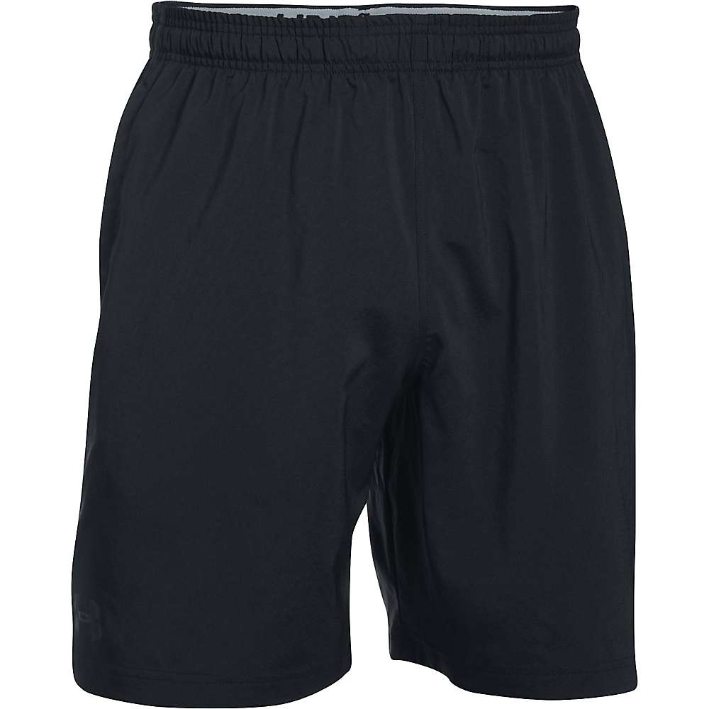 Under Armour Men's Hitt Woven Short - XL - Black / Black / Black