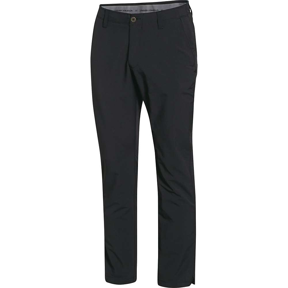 Under Armour Men's Match Play Tapered Pant - 38x30 - Black / True Gray Heather / Black