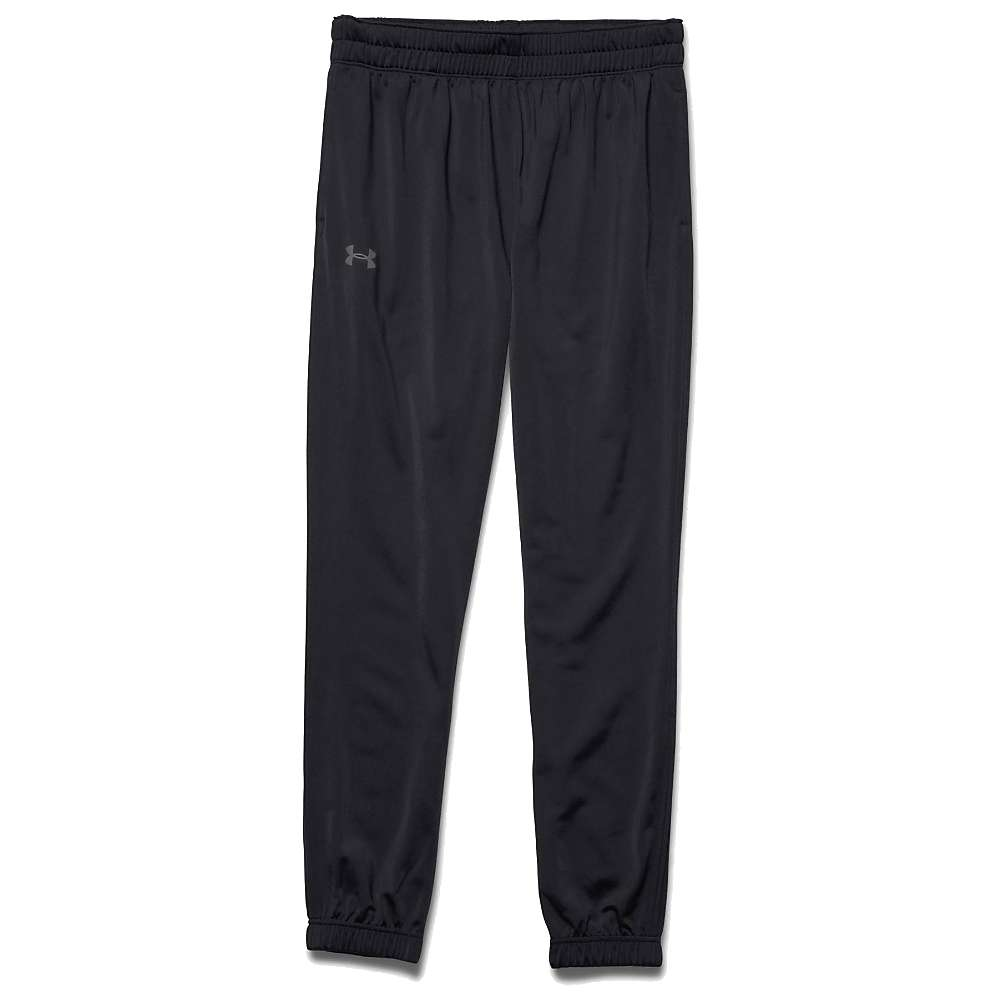 Under Armour Men's UA Relentless Tapered Warm-Up Pant - Large - Black / Black / Graphite