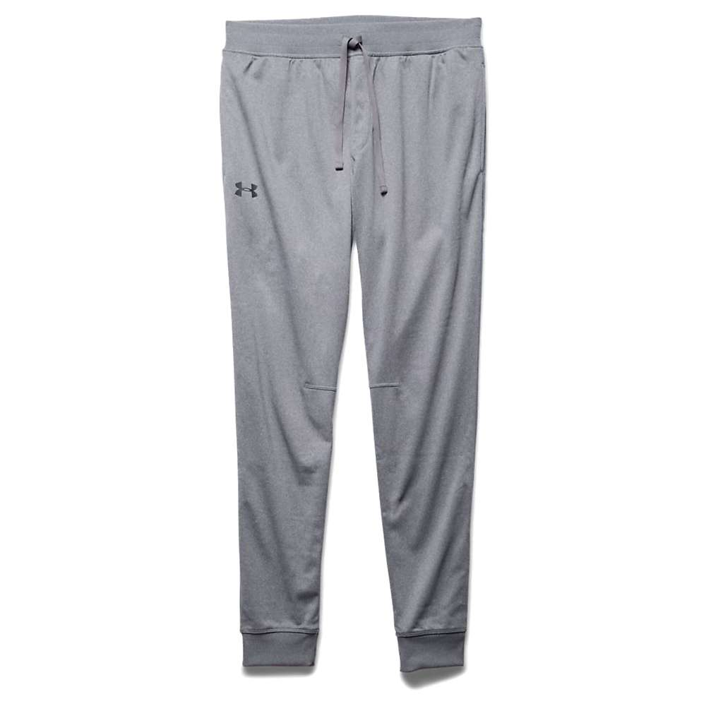 Under Armour Men's UA Sportstyle Jogger Pant - Large - Greyhound Heather/Greyhound Heather/Stealth Grey