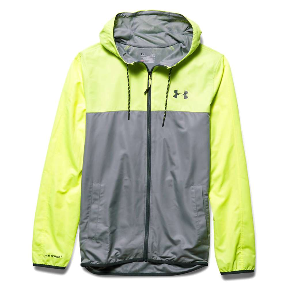 Under Armour Men's Sportstyle Windbreaker Jacket - XL - Steel / X-Ray / Stealth Grey