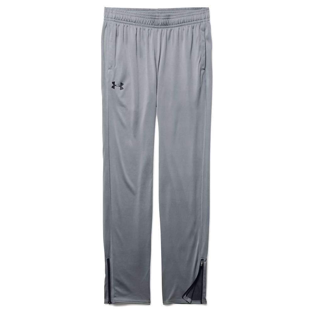 Under Armour Men's UA Tech Pant - Small - Steel / Black / Black