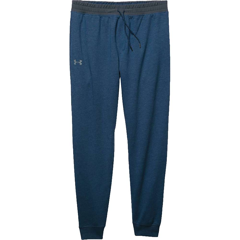Under Armour Men's Triblend Fleece Jogger Pant - Small - Blackout Navy / Stealth Gray / Steel