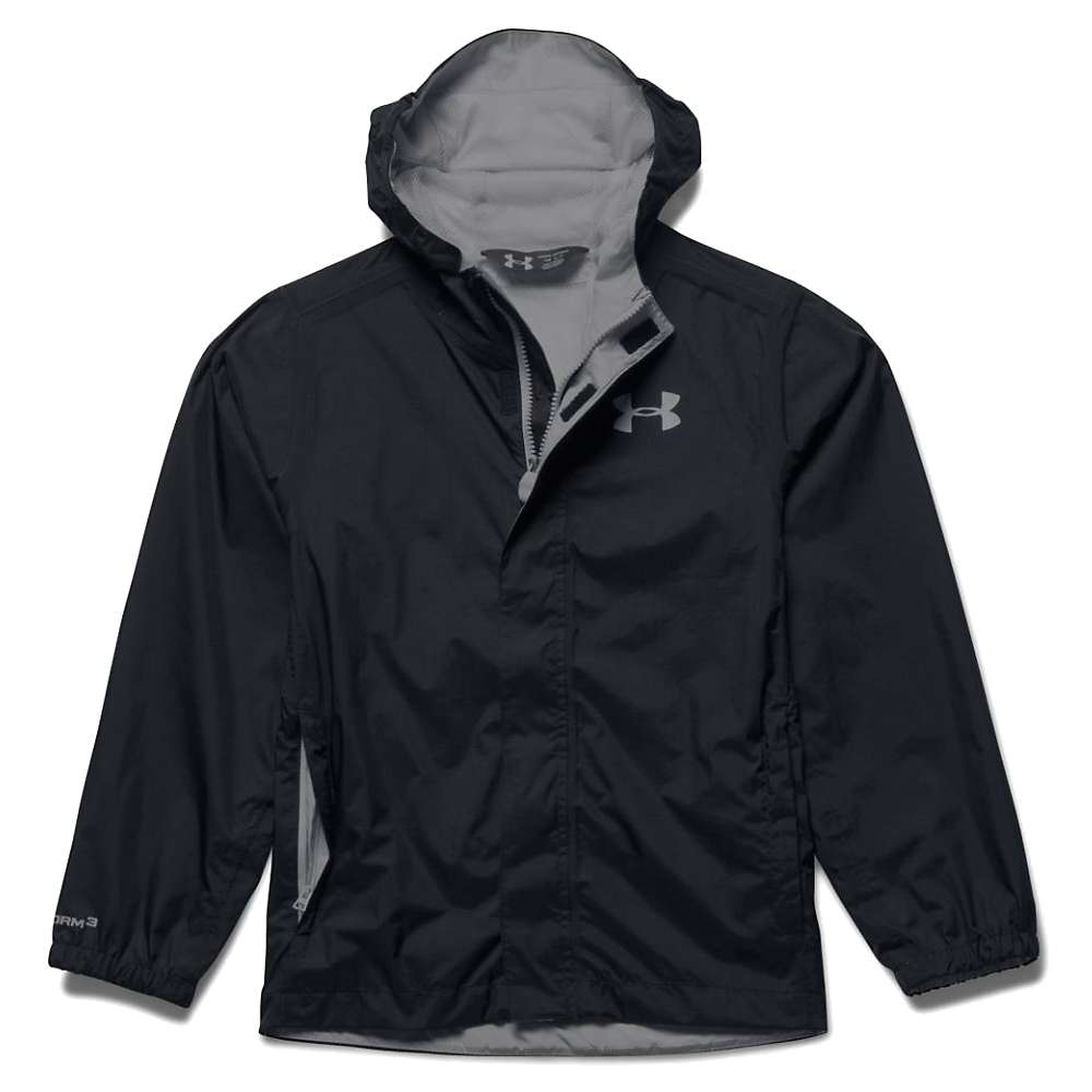 Under Armour Boy's Bora Jacket - Medium - Black