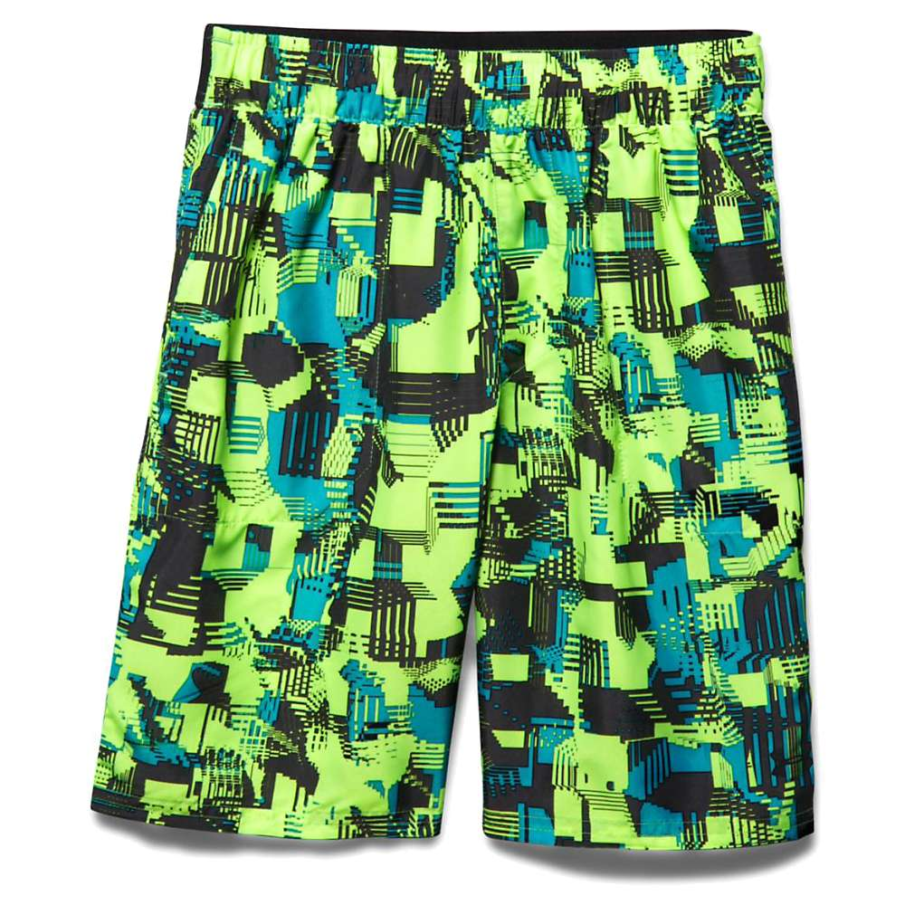 Under Armour Boy's Coastal Short - XL - Meridian Blue / Fuel Green