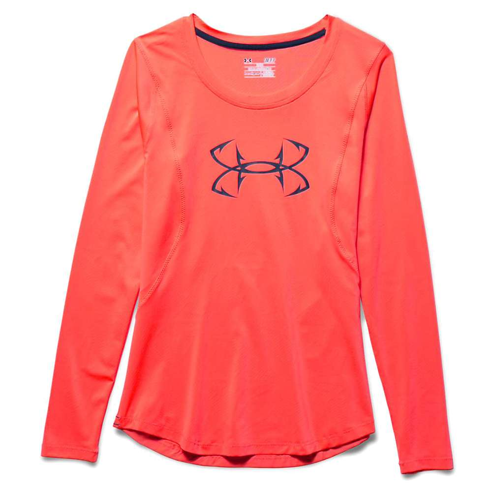 Under Armour Women's Coolswitch Thermocline LS Top - XL - After Burn