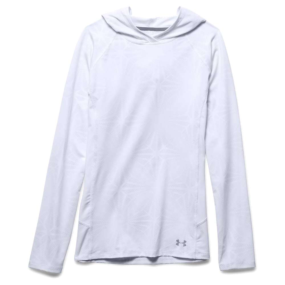 Under Armour Women's Coolswitch Trail Hoodie - Large - White