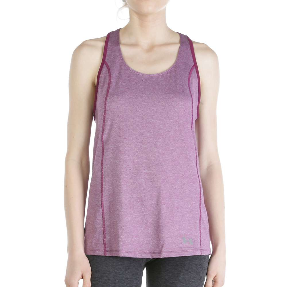 Under Armour Women's Coolswitch Trail Tank - Medium - Beet