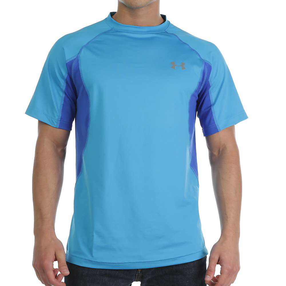 Under Armour Men's Coolswitch Trail SS Top - Small - Electric Blue