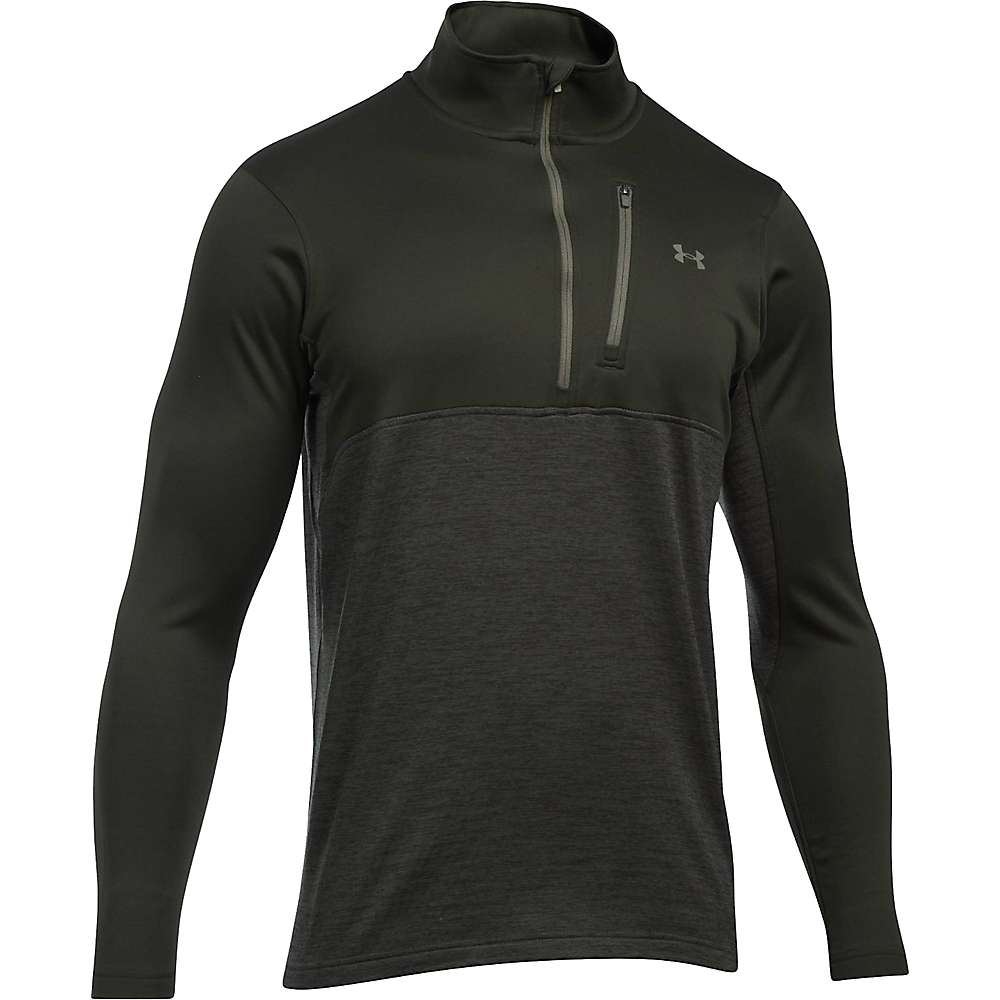 Under Armour Men's UA Gamutlite 1/2 Zip Top - Small - Artillery Green / Downtown Green / Foliage Green
