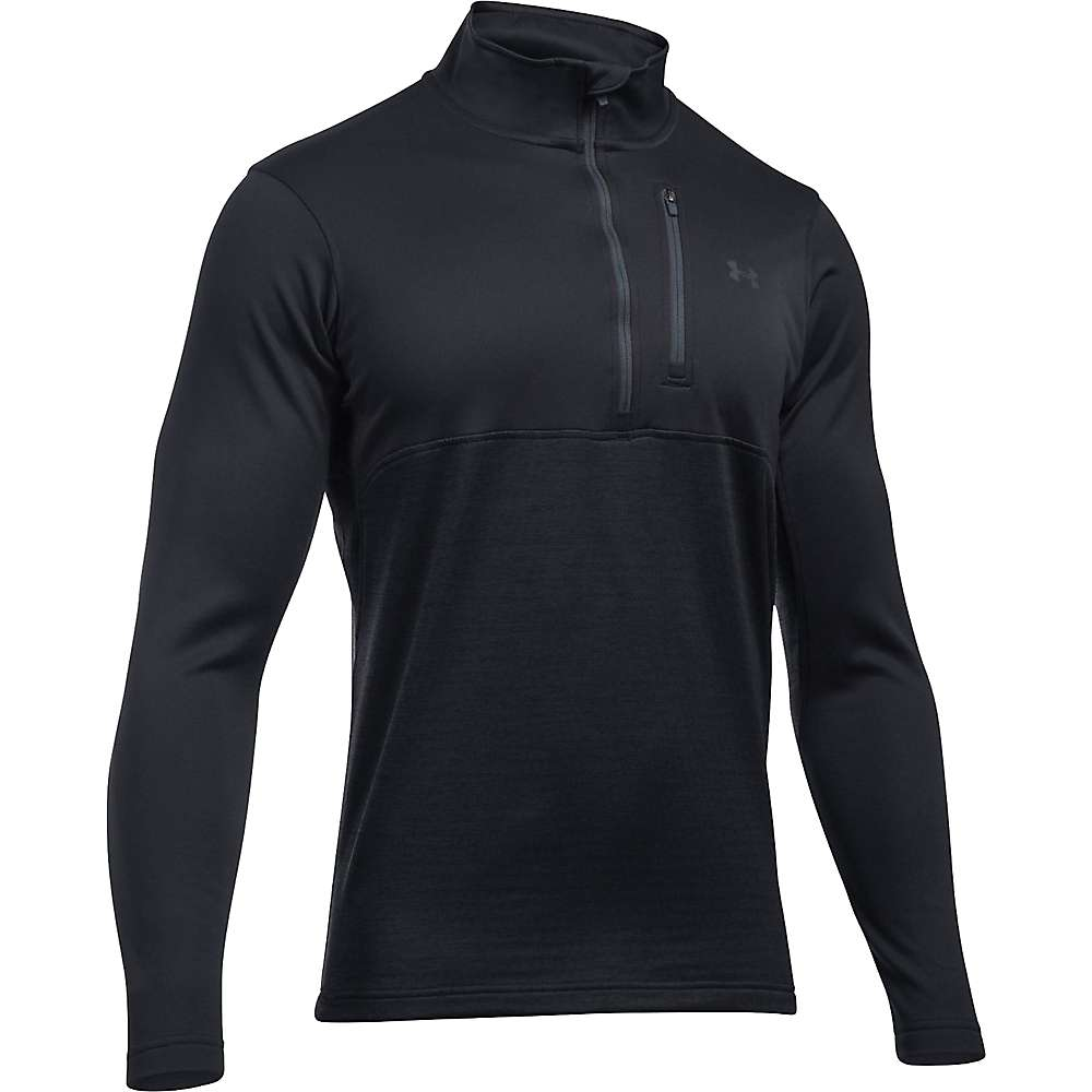 Under Armour Men's UA Gamutlite 1/2 Zip Top - Small - Black / Stealth Grey / Stealth Grey