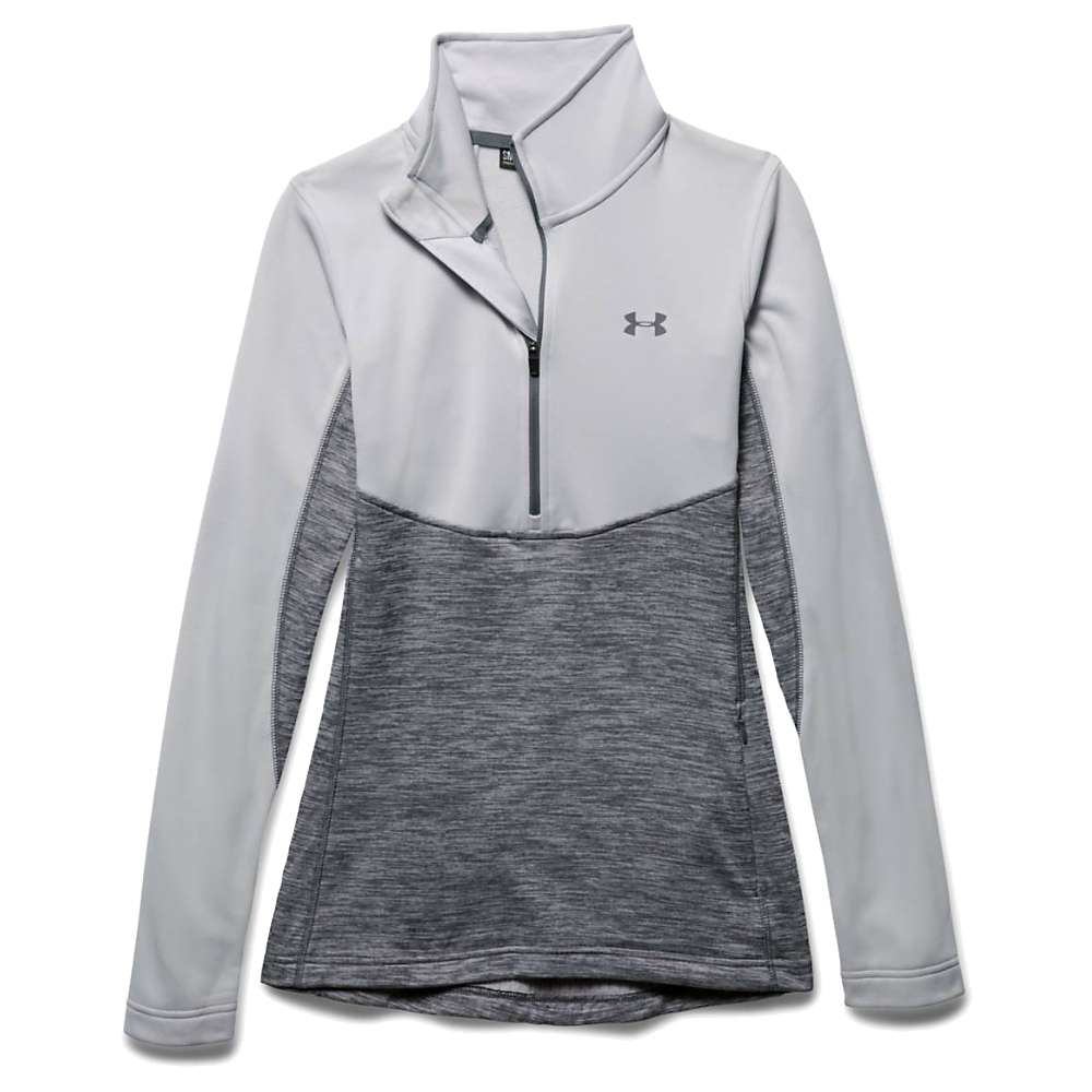 Under Armour Women's UA Gamutlite 1/2 Zip Top - Medium - Glacier Grey / Glacier Grey / Graphite