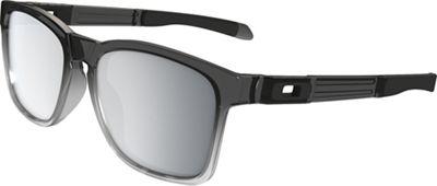 Oakley Catalyst Sunglasses - One Size - Grey Ink Fade / Chrome Iridium