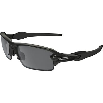 Oakley Flak 2.0 Polarized Sunglasses - Polished Black / Black Iridium Polarized